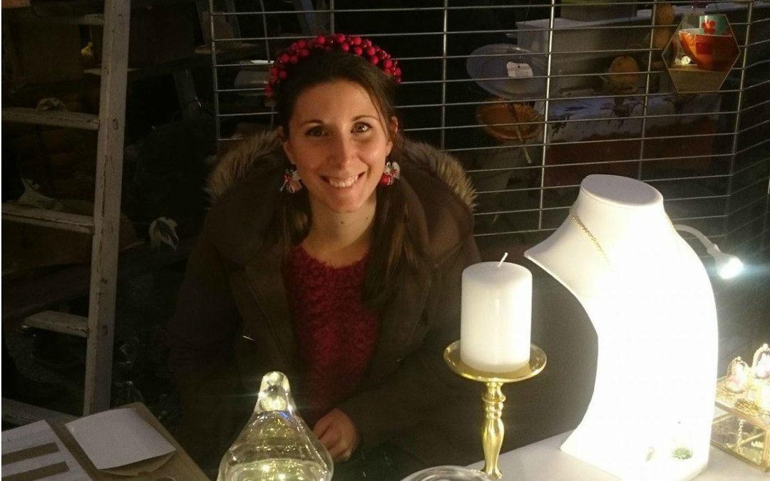 Cally expose pour la première fois au Marché de Noël de Castries (34) !