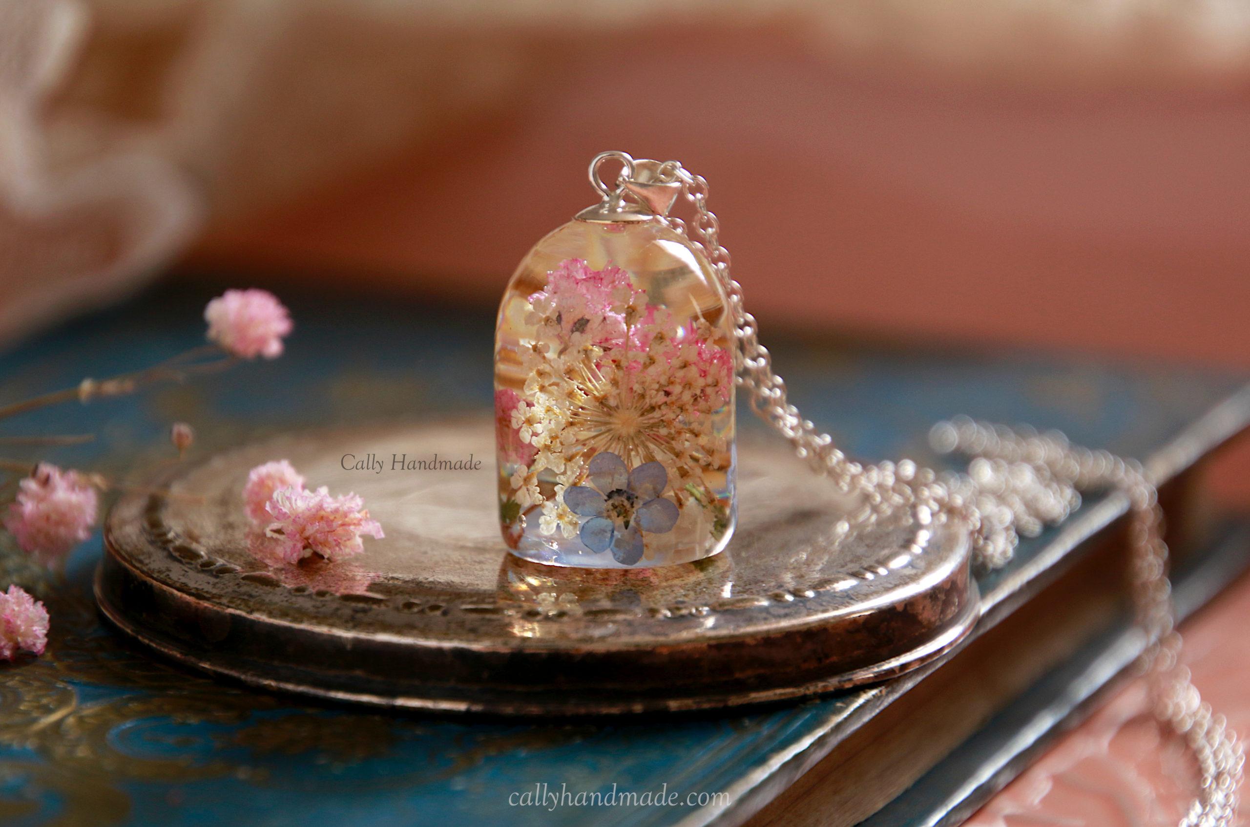 bijou fleurs cally handmade argent 925