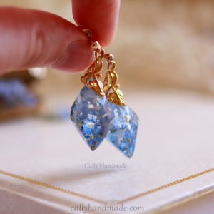 Boucles d'oreilles « Wedding Blue »