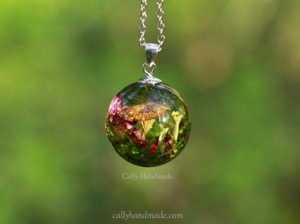 collier champignon foret nature