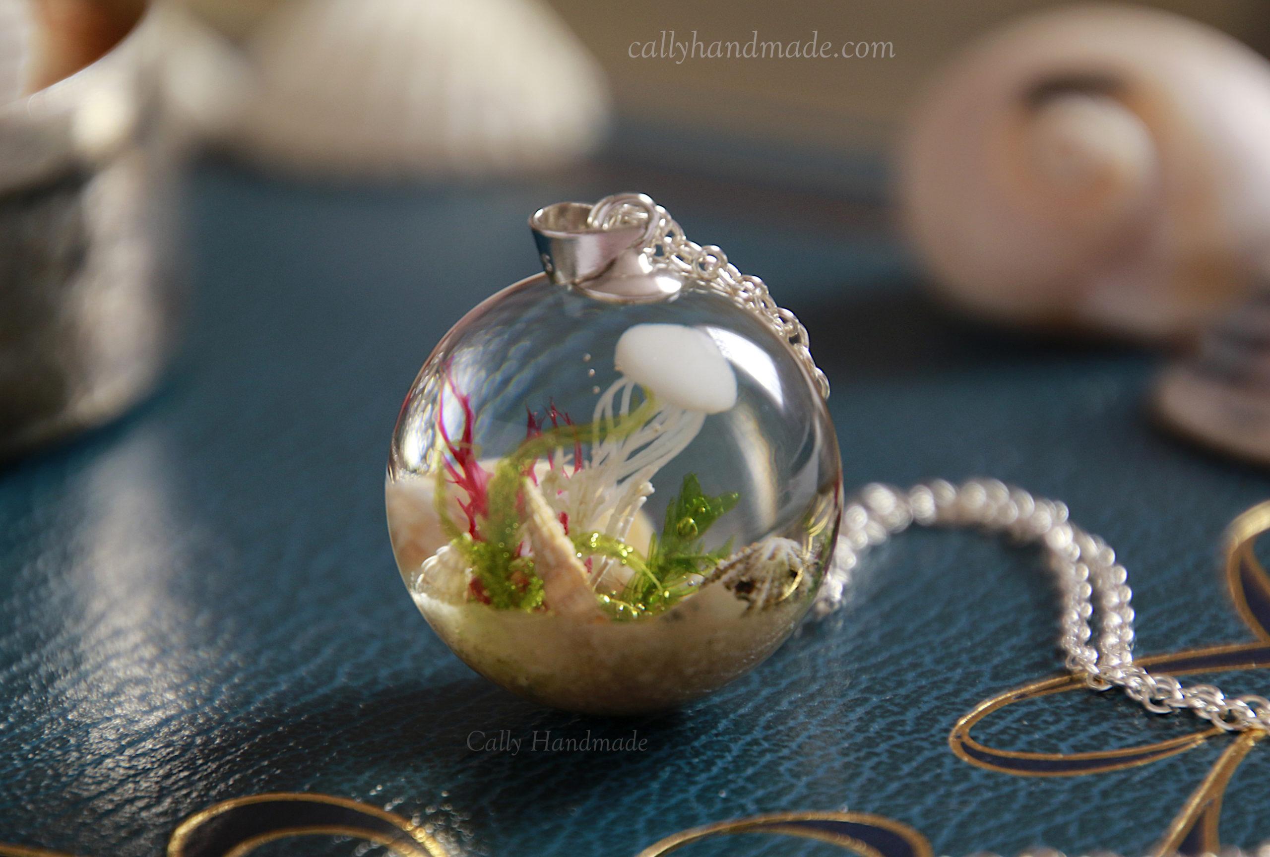 collier mer fait main handmade made in france